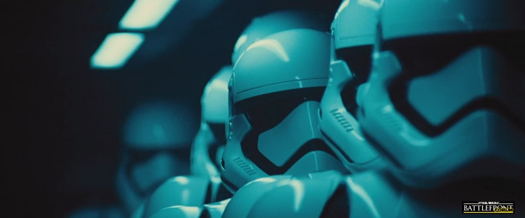 The Force Awakens Trailer - Stormtroopers