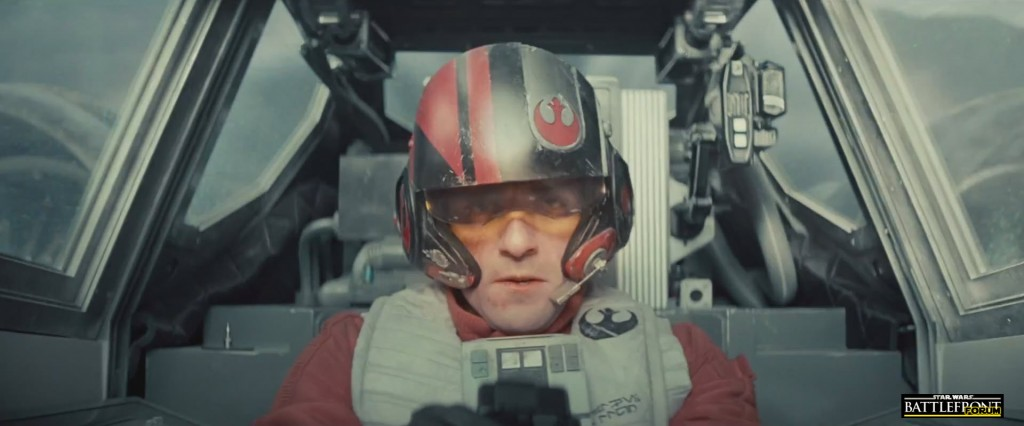 The Force Awakens Trailer - X Wing Fighter Pilot