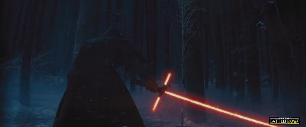 The Force Awakens Trailer - Lightsaber
