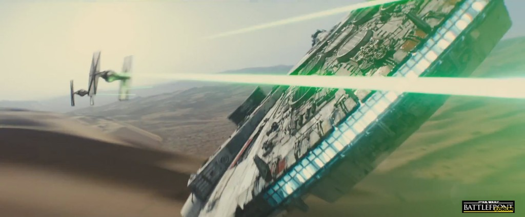 The Force Awakens Trailer - Millennium Falcon