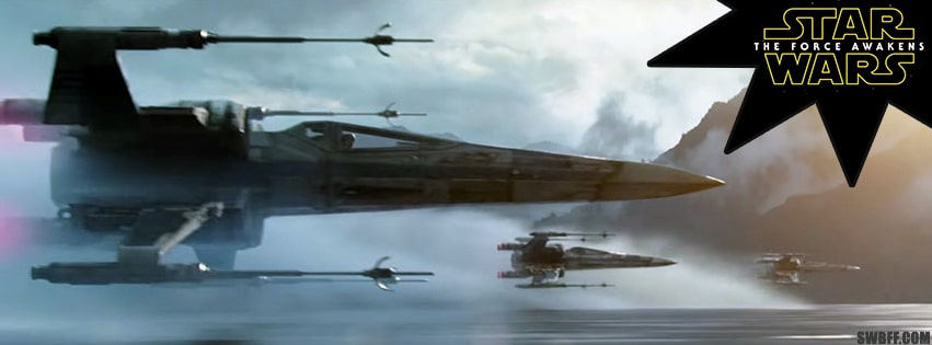 X-wing Facebook Cover