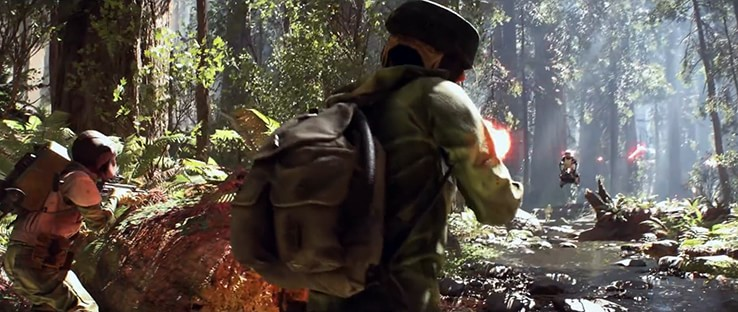 Star Wars Battlefront Map - Endor