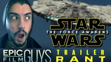 """<span class=""""entry-title-primary"""">Star Wars: Episode VII – The Force Awakens Teaser Rant</span> <span class=""""entry-subtitle"""">Epic Film Guys Reviews: Justin in awe of the new Star Wars teaser goes over his favorite moments.</span>"""