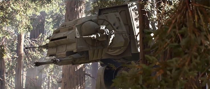 AT-AT Battlefront Vehicle