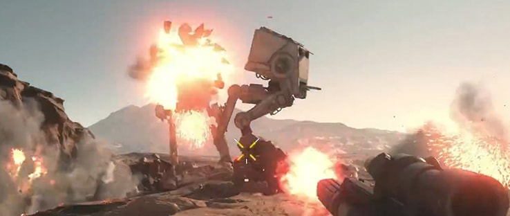 AT-ST Tatooine Attack