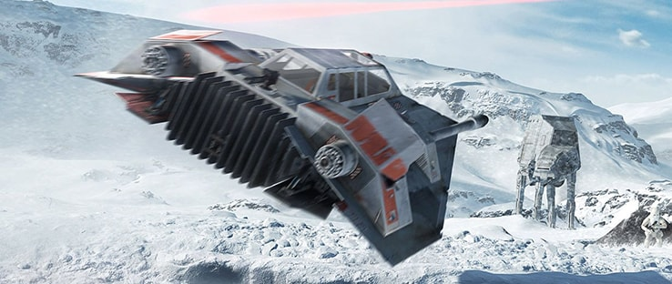 Snowspeeder Battlefront Vehicle