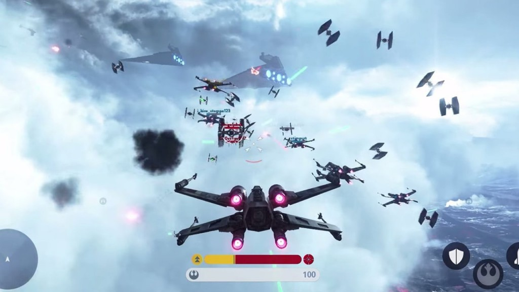 X-Wing Gameplay