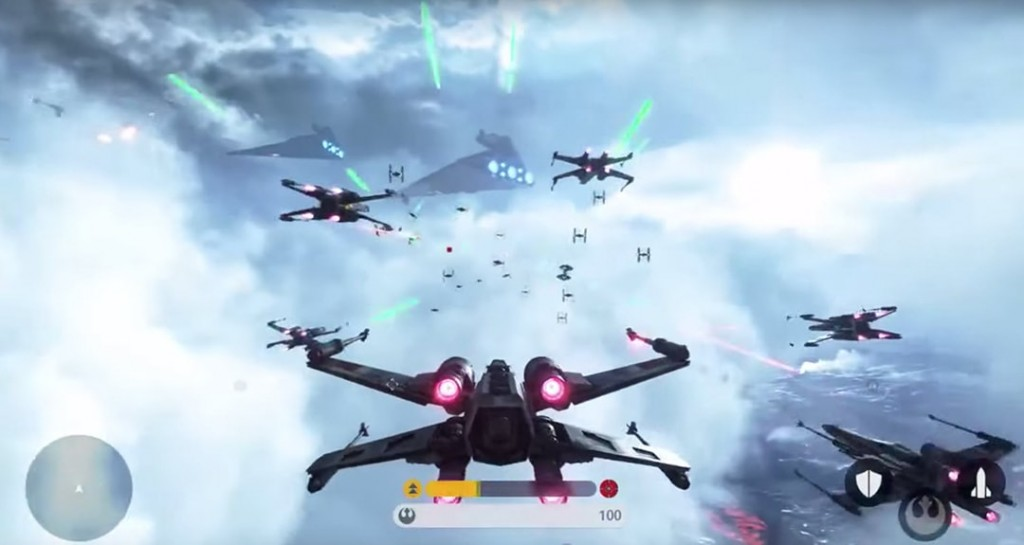Battlefront Fighter Squadron Mode