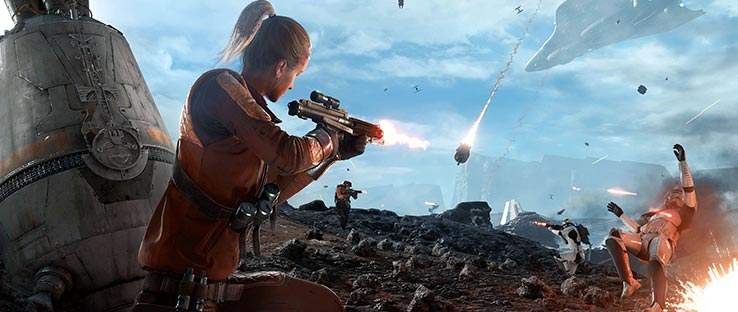 Battlefront Drop Zone Game Mode