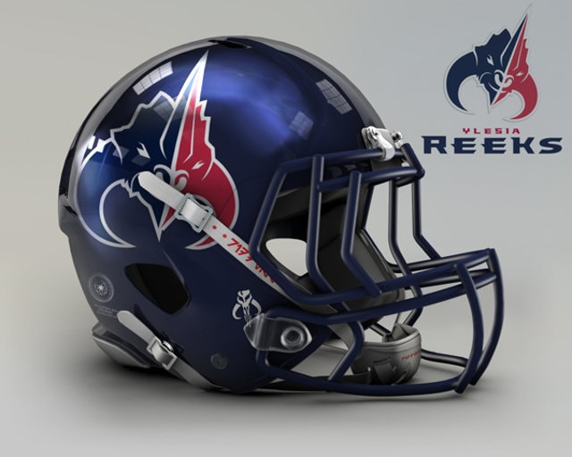 NFL Star Wars Football Helmet - Texans