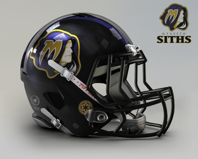 NFL Star Wars Football Helmet - Ravens