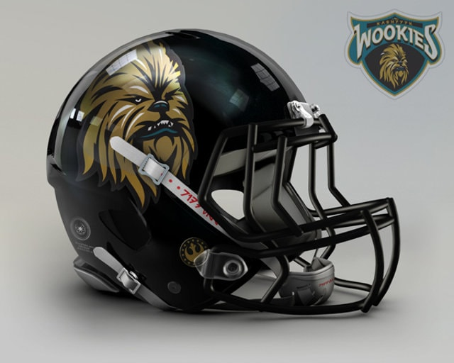 NFL Star Wars Football Helmet - Jaguars