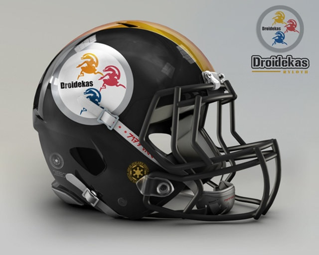 NFL Star Wars Football Helmet - Steelers