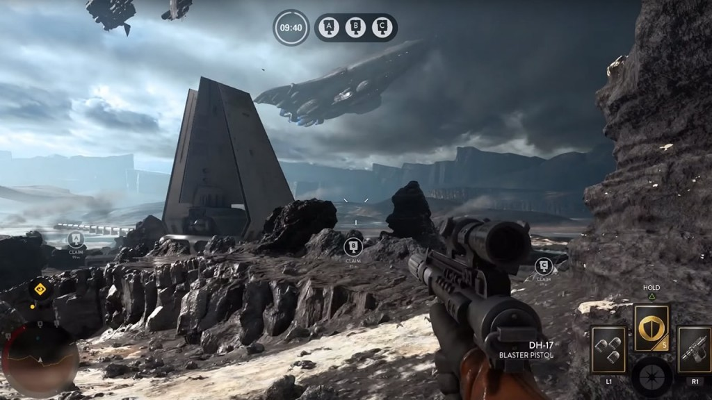 Battlefront Droid Run Gameplay