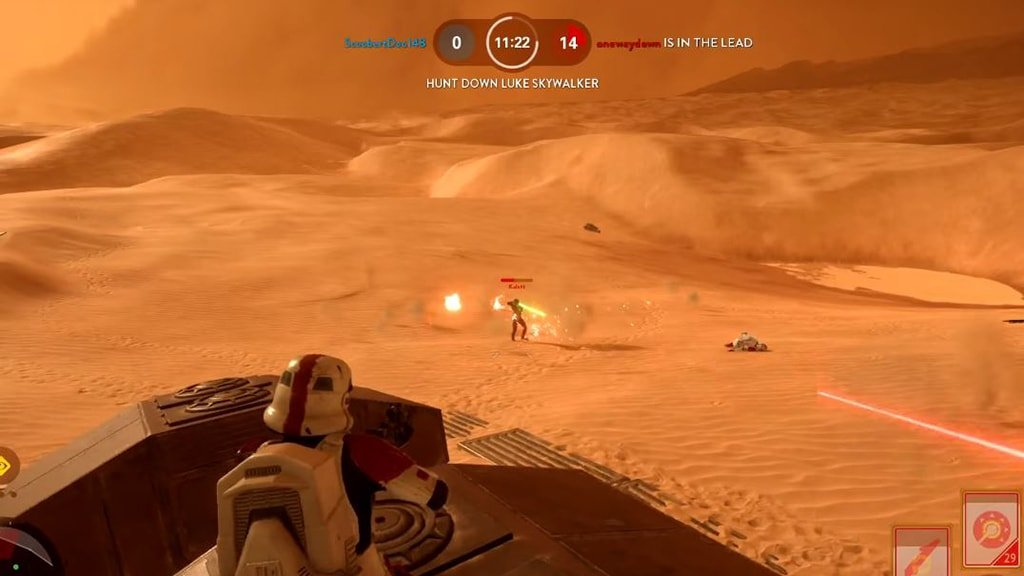 Hero Hunt Game on Tatooine