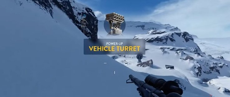 Battlefront Vehicle Turret Power Up