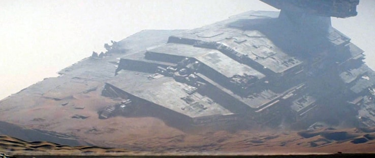 The Force Awakens Star Destroyer