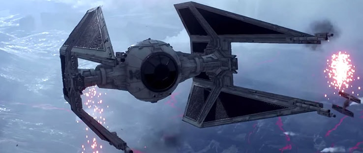 Battlefront TIE Interceptor Vehicle