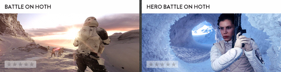 Battlefront Battles Game Modes