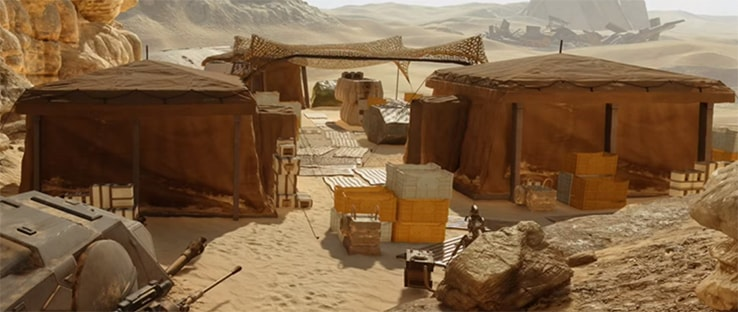 Jakku Goazan Badlands Multiplayer Map