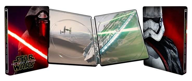 The Force Awakens Blu Ray SteelBook