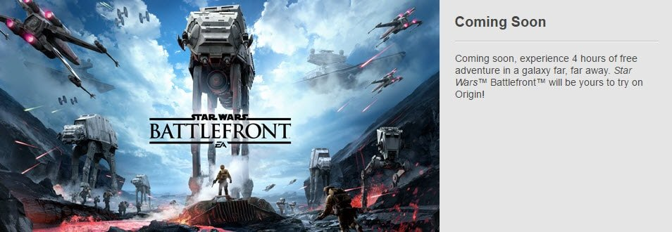 Free Battlefront Trial