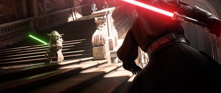 Gameplay Trailer with Darth Maul and Yoda