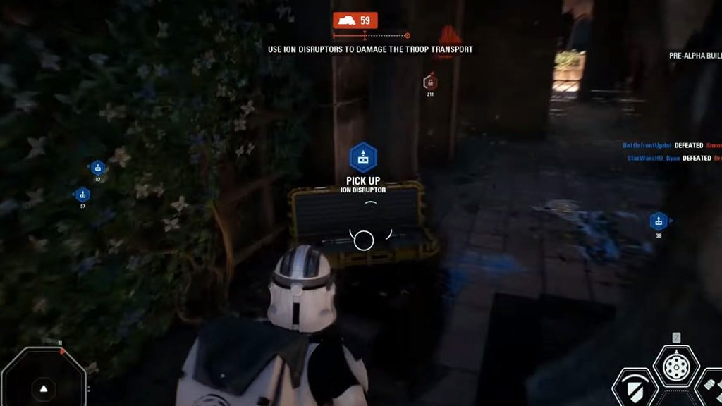 Galactic Assault on Theed using Disruptors