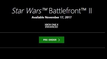 X-Box One Enhanced For Battlefront 2