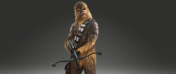 Chewbacca Hero in Star Wars Battlefront