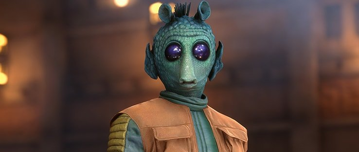 Greedo Hero in Star Wars Battlefront