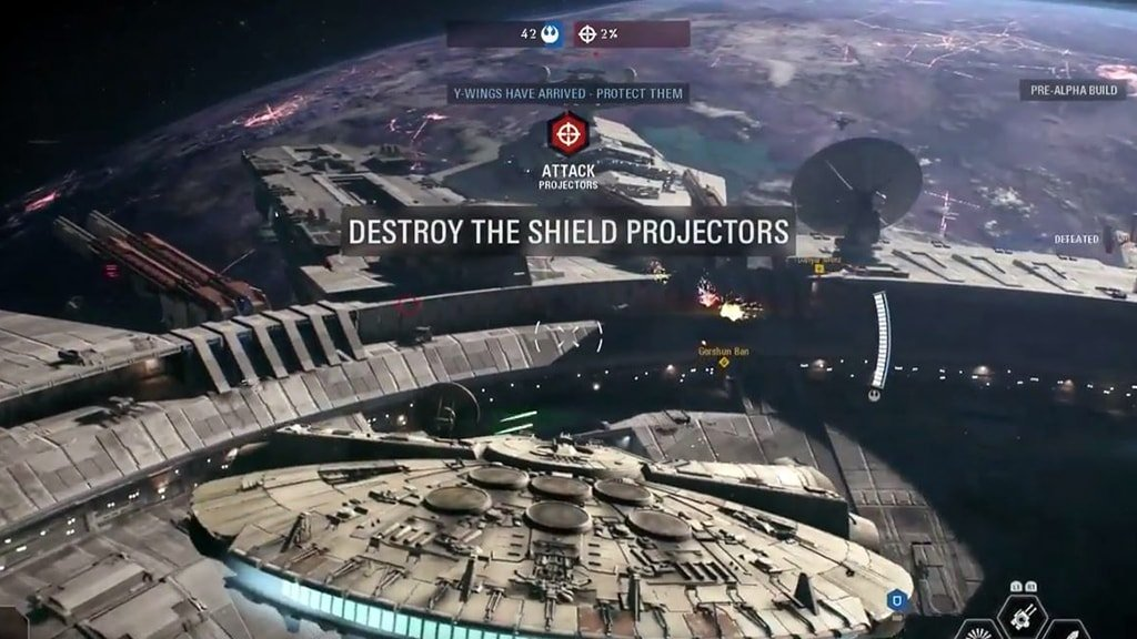 Millennium Falcon in Starfighter Assault
