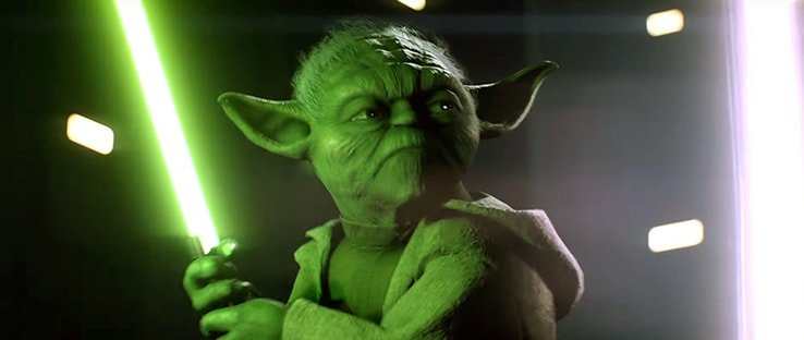 Yoda Hero in Battlefront